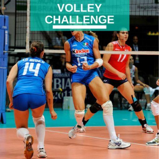 Volley Challenge team building